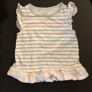 6-9 month old baby girl shirt